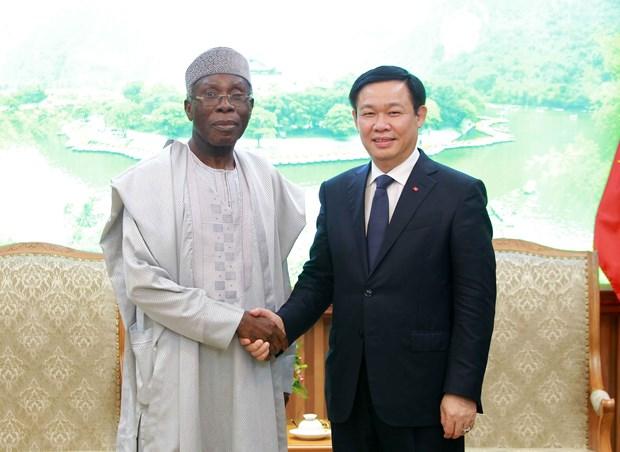 越南政府副总理王廷惠:越南希望促进与尼日利亚多方面合作关系 hinh anh 2