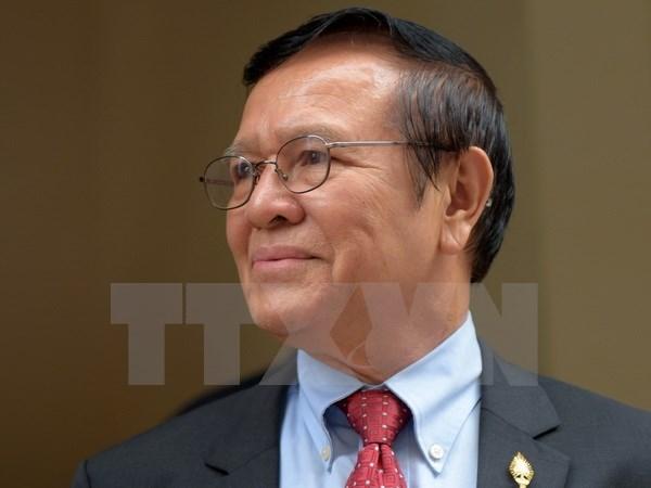 柬埔寨全国选举委员会敦促分配被解散的救国党的议席 hinh anh 1