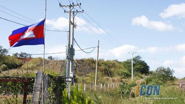 得农省加大对柬埔寨蒙多基里省的供电力度 hinh anh 1