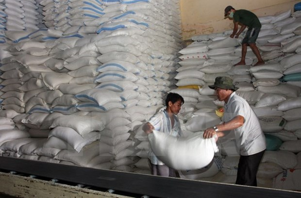 2017年前10个月越南大米出口保持乐观增长态势 hinh anh 1
