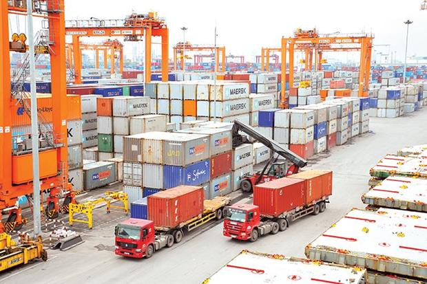 10月份越南贸易顺差达21.8亿美元 创历史新高 hinh anh 1