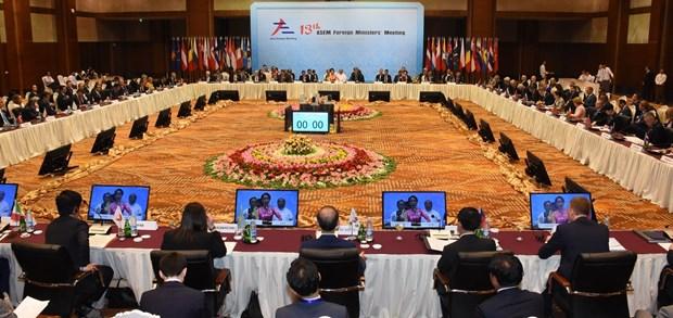 第十三届亚欧外长会议在缅甸正式开幕 hinh anh 1