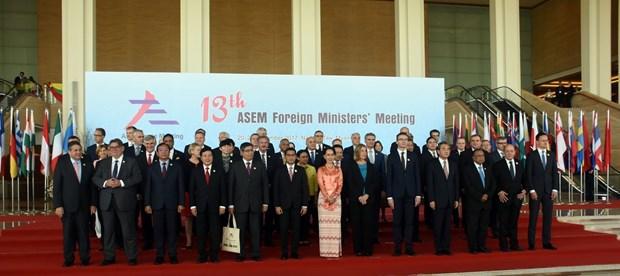 第十三届亚欧外长会议在缅甸正式开幕 hinh anh 2