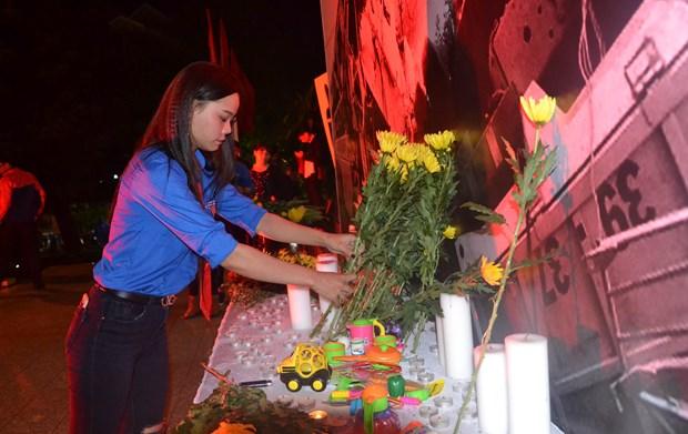 交通事故死亡者祈求超度仪式在嘉莱省举行 hinh anh 1