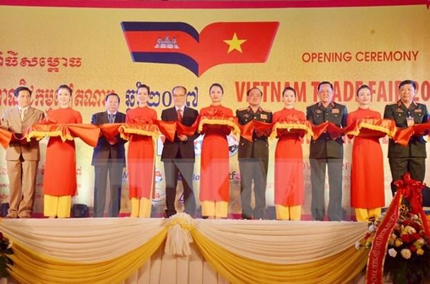 2017年越南贸易展在柬埔寨开展 hinh anh 1