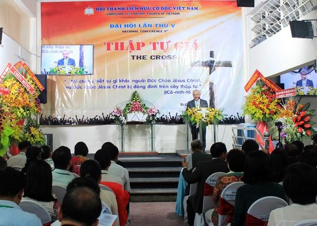 越南基督徒团契第五次大会正式开幕 hinh anh 1