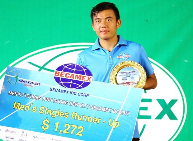 2017年男网F2未来赛:李黄南无缘冠军 hinh anh 1