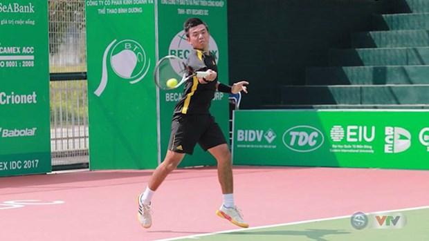 ATP最新排名:李黄南等越南5名网球运动员跻身ATP排名 hinh anh 1