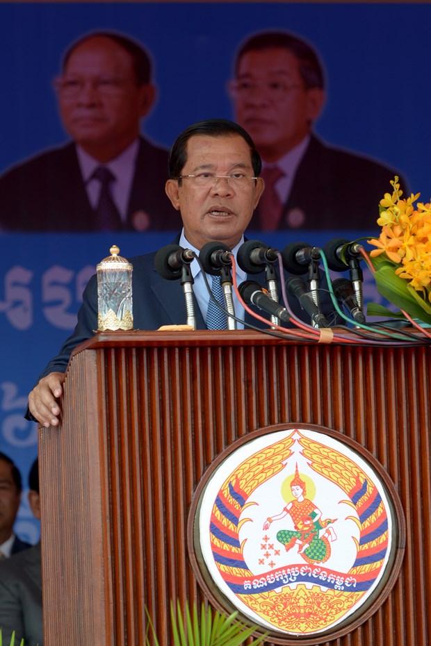 柬埔寨首相洪森:国家政治体系保持稳定 hinh anh 1
