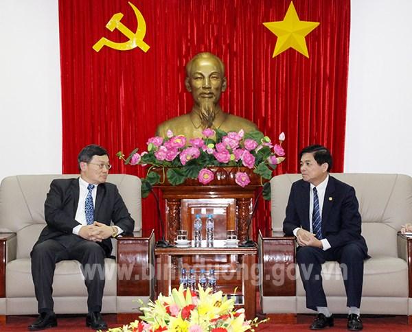 台湾商会:平阳省一直是外国投资商颇具吸引力的投资目的地 hinh anh 1