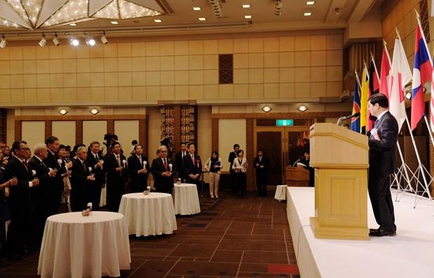 日本高度评价东盟对地区和平与繁荣的贡献 hinh anh 2