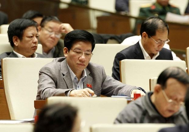 第十四届国会第四次会议:北南高速公路以东部分路段建设项目投资主张获批 hinh anh 1