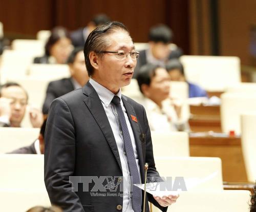 越南十四届国会第四次会议讨论《反腐败法修正案(草案)》 hinh anh 1
