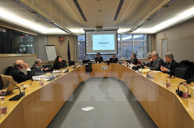 法国加百利·佩鲁基金会在欧洲议会举行关于东海问题的国际研讨会 hinh anh 1