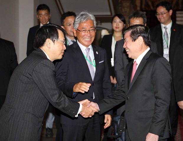 胡志明市欢迎日本大阪企业加强贸易投资合作 hinh anh 1