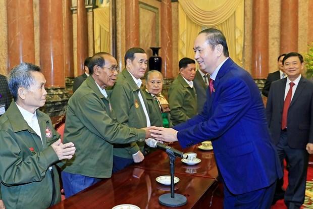 越南党和国家永远铭记老挝人民的功劳 hinh anh 2