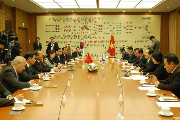 政府常务副总理张和平访问韩国: 加强越韩立法交流 hinh anh 1