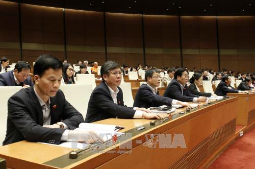 第十四届国会第四次会议:国会通过《公债管理法(草案)》 hinh anh 1