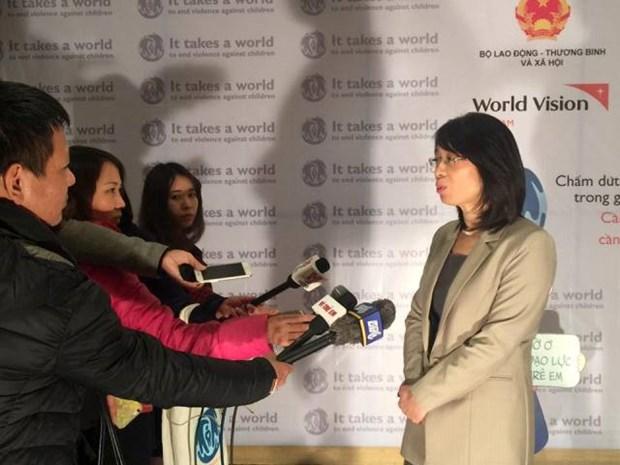 停止对儿童暴力的全球倡议:全社会携手反对对儿童暴力 hinh anh 2