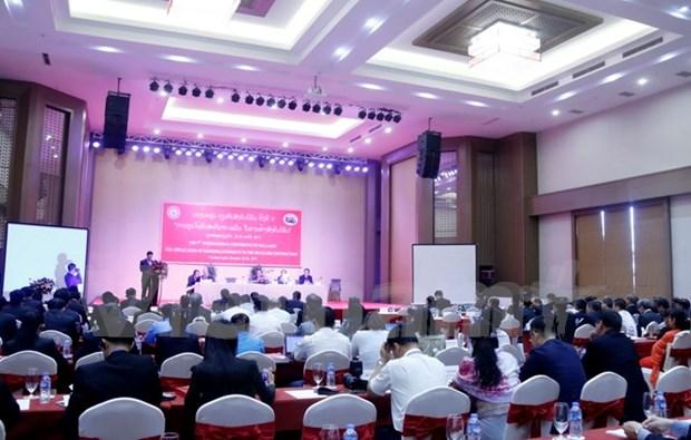 越南赴老出席第五次社会主义国际研讨会 hinh anh 3