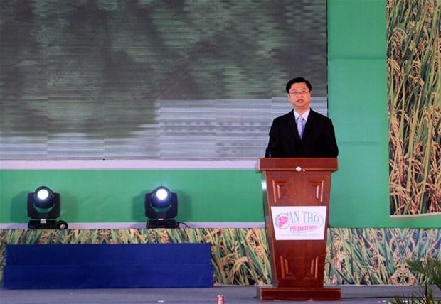2017年越南国际农业展览会吸引300家单位和企业参展 hinh anh 2