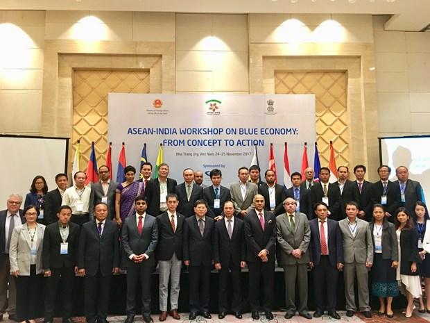"""""""东盟—印度:蓝色经济—从概念到行动""""的研讨会在越南庆和省举行 hinh anh 1"""