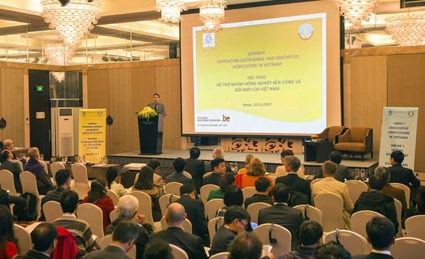 越南与比利时加强农业合作 hinh anh 1