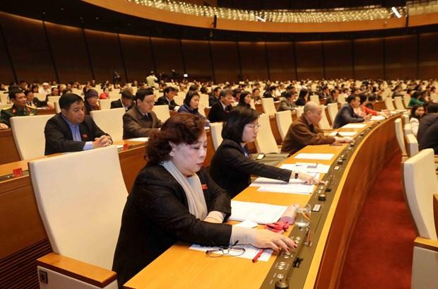 越南第十四届国会第四次会议公报(第二十五号) hinh anh 2