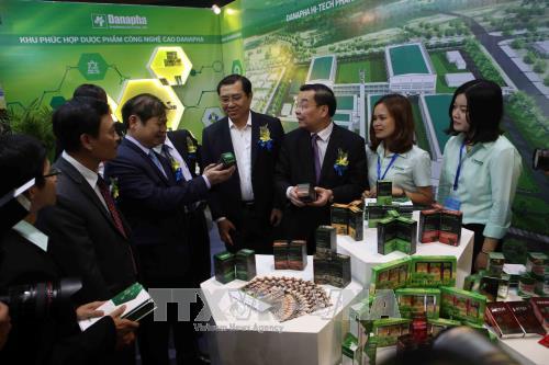 2017年技术展示与供需对接活动吸引多家国内外代表和企业参加 hinh anh 2