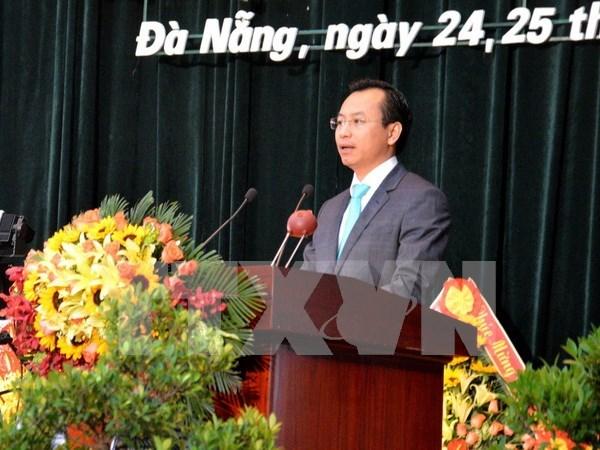 阮春英岘港市人民议会主席职务正式被罢免 hinh anh 1