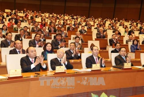越南国会秘书长阮幸福:第十四届国会第四次会议取得圆满成功 hinh anh 1