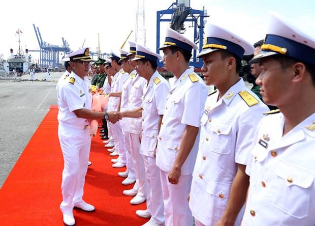 马来西亚皇家海军两艘军舰访问胡志明市 hinh anh 2