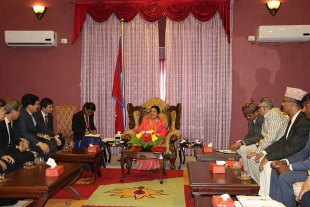 越南与尼泊尔加强法律领域的合作 hinh anh 1