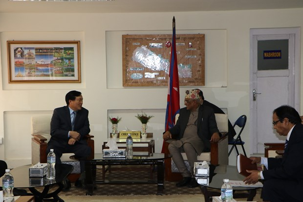越南与尼泊尔加强法律领域的合作 hinh anh 2