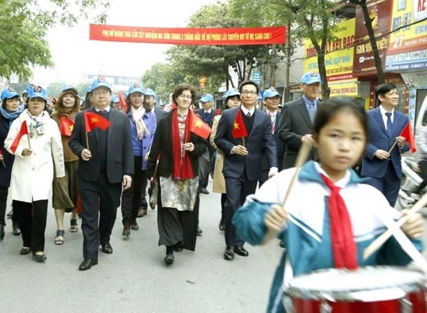 越南政府副总理武德儋 让艾滋病患者不再受歧视 hinh anh 2