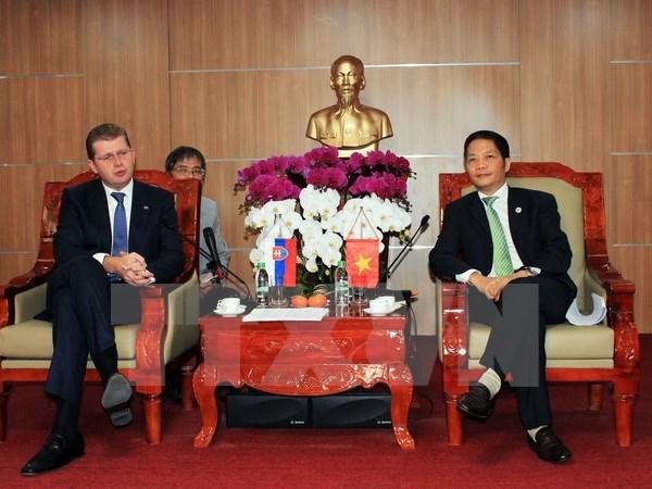 推动越南与斯洛伐克在贸易领域的合作 hinh anh 1