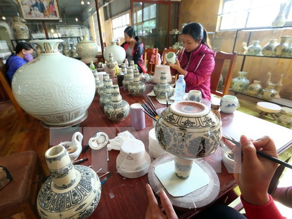2017年10月份越南陶瓷制品出口额回升 hinh anh 1