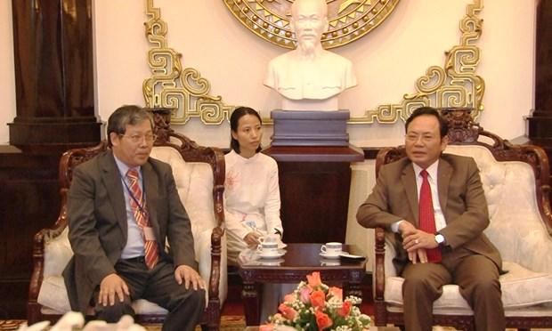 中国台湾医疗队在林同省免费看病、发放药品 hinh anh 1
