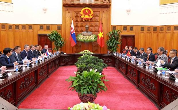 越南与斯洛伐克促进贸易投资合作 hinh anh 2