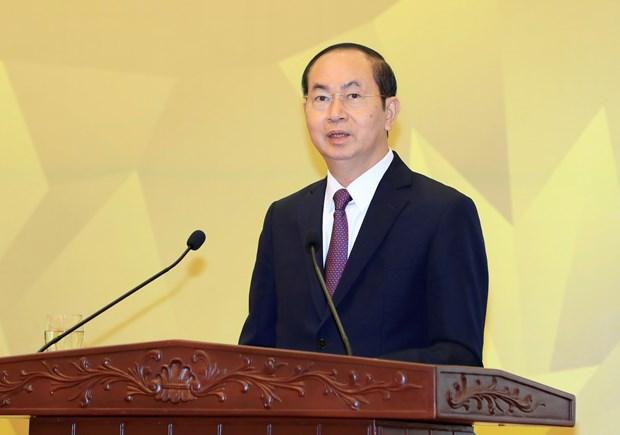 国家主席陈大光:2017年APEC会议的成功为深广融入世界经济进程注入新动力 hinh anh 2