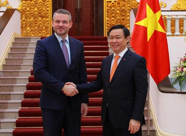 越南与斯洛伐克促进贸易投资合作 hinh anh 1