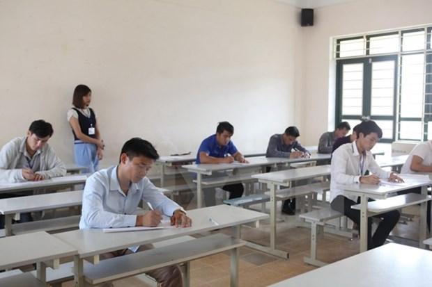 2017年第一次老挝留学生演讲比赛在河内举行 hinh anh 1