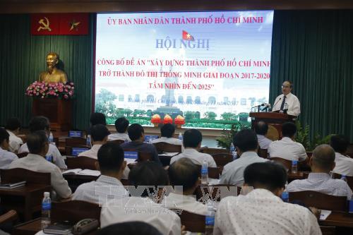 胡志明市智慧城市建设提案正式对外公布 hinh anh 1