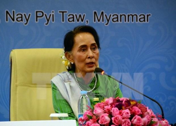 缅甸国家顾问将对中国进行访问并出席中国共产党与世界政党高层对话会 hinh anh 1