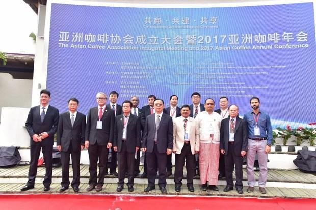 亚洲咖啡协会宣布成立 越南当选理事成员国 hinh anh 4