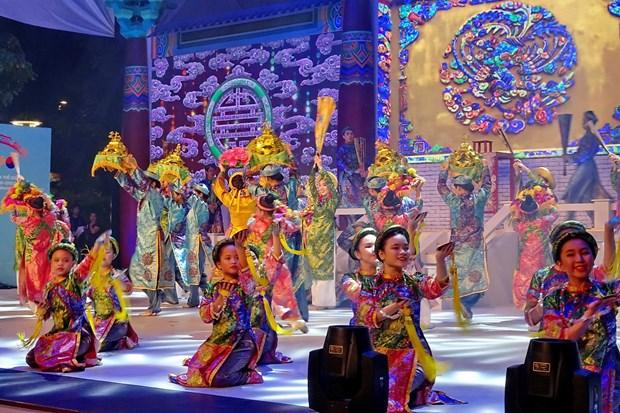2017年胡志明市—庆州市世界文化节参加活动人数超过300万 hinh anh 1