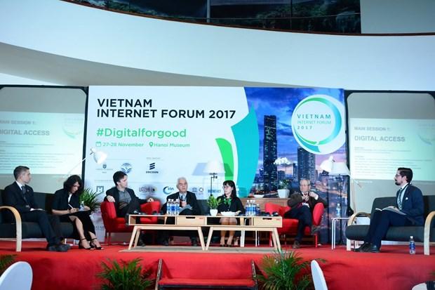 2017年越南互联网论坛:越南互联网用户约5000万人 hinh anh 1