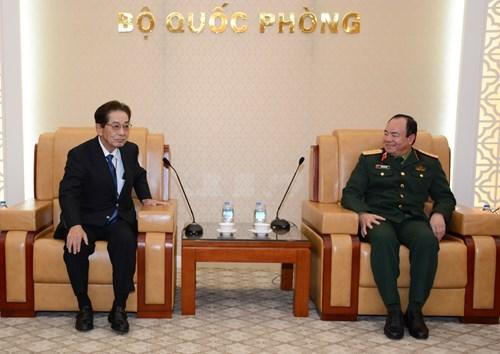 加强越南与日本在搜寻救难领域的合作 hinh anh 1