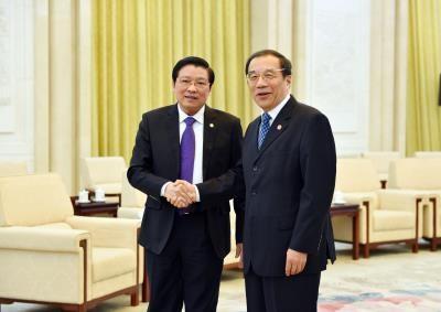 越南共产党代表团对中国进行工作访问 hinh anh 1