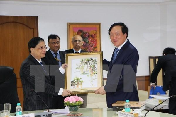 越南法院与印度法院加强合作 hinh anh 1